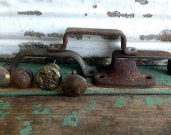 4 vintage Drawer pulls handles Victorian