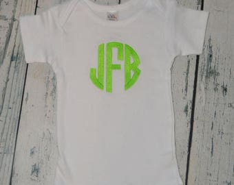 ON SALE Personalized Shirt or bodysuit - Custom You choose font and Color
