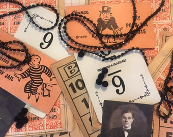 Vintage Halloween Inspired Ephemera Craft Scrapbooking Kit