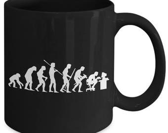 Evolution Of Man Computer Programmer Coffee Mug
