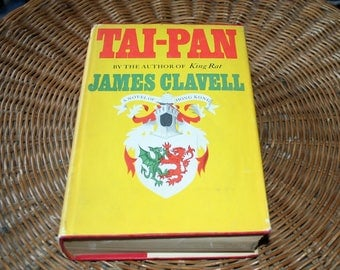 TAI-PAN / James Clavell / Hardcover / 1966 / With Dust Jacket