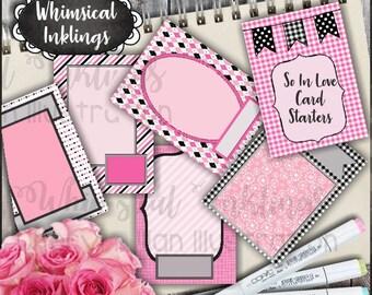So in Love Card Starters - Immediate Download