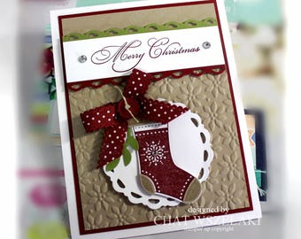 Stampin' Up Christmas in July Card