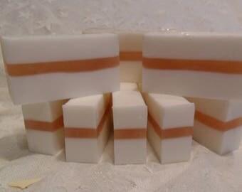 Handmade Bay Rum Soap Slices  4.5 Oz.