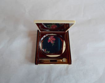 Vintage Compact Make-Up Double Mirror //2