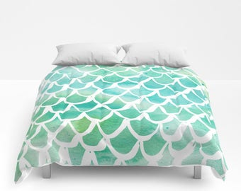 aqua mermaid comforter twin xl comforter queen comforter king comforter full comforter