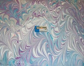 marbled paper, carta marmorizzata, decorative papers,. -  5903