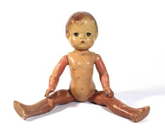 Antique Composition Doll - EFFANBEE