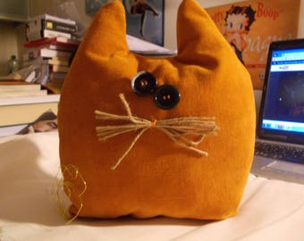 Orange velvet cat