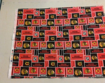 Chicago Blackhawks fabric 248723