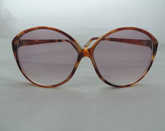 vintage oversized sunglasses 70s boho sunglasses big sunglasses Foster Grant brown sunglasses retro glasses new old stock