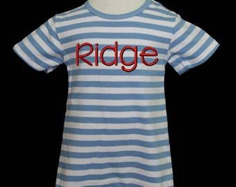 Boys Monogram Romper, Boys Romper, Newborn Romper, Newborn Romper for Boys, Baby Shortalls, Toddler, Shortalls for Boys, Baby Gift, Custom