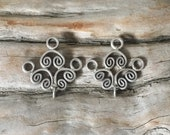 INVENTORY REDUCTION —  2 Fine Sterling Silver THAI Earwires