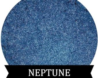 Shimmery Blue Eyeshadow NEPTUNE