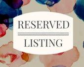 RESERVED Listing for DELAENA
