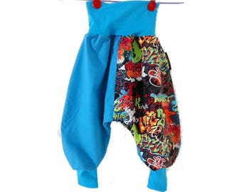 Harem pants size 3 to 24 months scalable