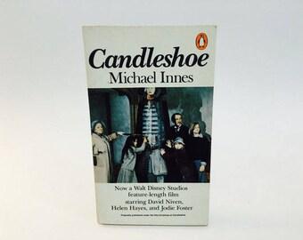 Vintage Pop Culture Book Candleshoe by Michael Innes 1978 Paperback Disney