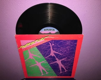 Vinyl Record Album Thompson Twins - In The Name of Love LP 1981 UK Pop Synth