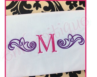 """Steele Vintage Accent  Monogram Font- SMALL  - BX Files included- Instant Download Machine Embroidery Design -2.5"""", 3.5"""", 4.5"""", 5.5"""", 6.5"""""""