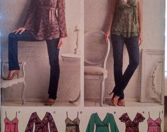 Simplicity #3956 new uncut top pattern