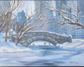Central Park in Snow...