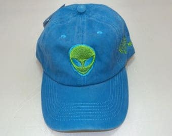 Strap-back Dad Hat - Extraterrestrial (One-of-a-kind)
