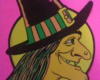 Beistle Die Cut Witch
