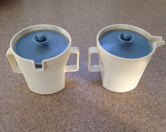 Vintage Tupperware Sugar and Creamer Set