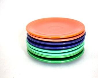 Fiesta Stack Dessert Plates x 8
