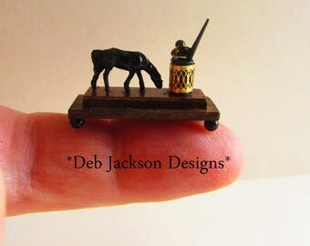 From *DJD*Equestrian style inkwell and pen.