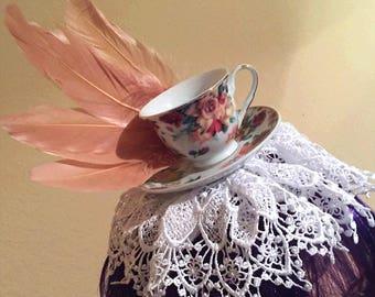 Teatime Topper Fascinator Headband