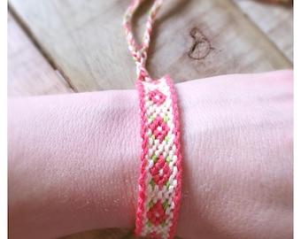 Aztec friendship bracelet