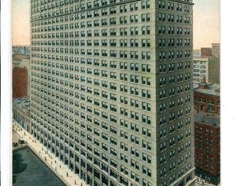 Transportation Building Chicago Illinois 1910c postcard