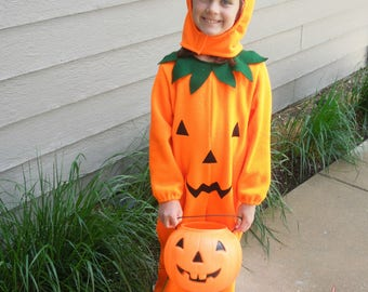 Pumpkin Costume for Baby, Toddler and Child