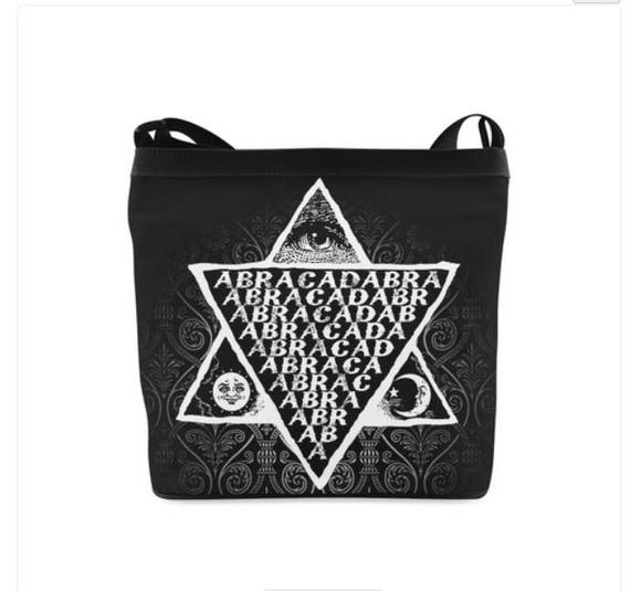 Abracadabra Shoulder Sling Bag