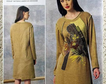 ON SALE Vogue 1459, Misses' Dress Sewing Pattern, Koos Van Den Akker Pattern, Easy Dress Pattern, Misses' Size 8, 10, 12, 14, 16, Uncut