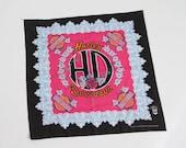 vintage Harley Davidson women's bandana do rag 80s 90s