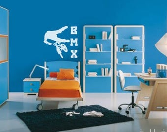 Vinyl Wall Sticker Decal Art - BMX