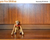 SALE 25% OFF vintage mid-century zooline monkey figurine