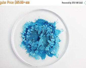 OFF20 Blooming Flower resin art petri