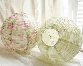 Shabby Chic Paper Lantens - Rachel Ashwell - discountinued