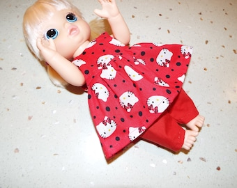Dress And Pants To Fit Baby Alive Size Dolls