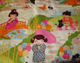 Zoi has 2 sisters Fabric - by Alexander Henry -1 yard