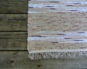 MATTA-Hand Woven Rag Rug-Cotton-Cotton/Poly Blend-Union #36 Loom-Scandinavian-Cottage Style