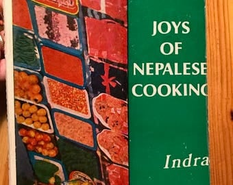1986 Joys of Nepalese cooking vintage paperback Nepal