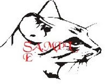 Kitten Head Cross Stitch Chart