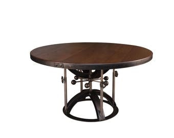 Vintage Industrial - Helicoid Dining Table