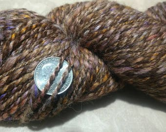 Alpaca Blend Yarn - Missing Fall 1 of 2 - Handspun