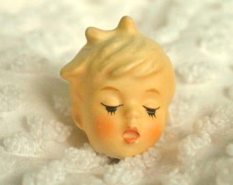 Vintage Antique German Hummel Doll Head Listing #60
