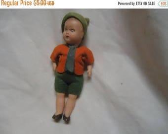 July Blowout Sale Vintage Plastic Sleepy Eye Doll, collectable